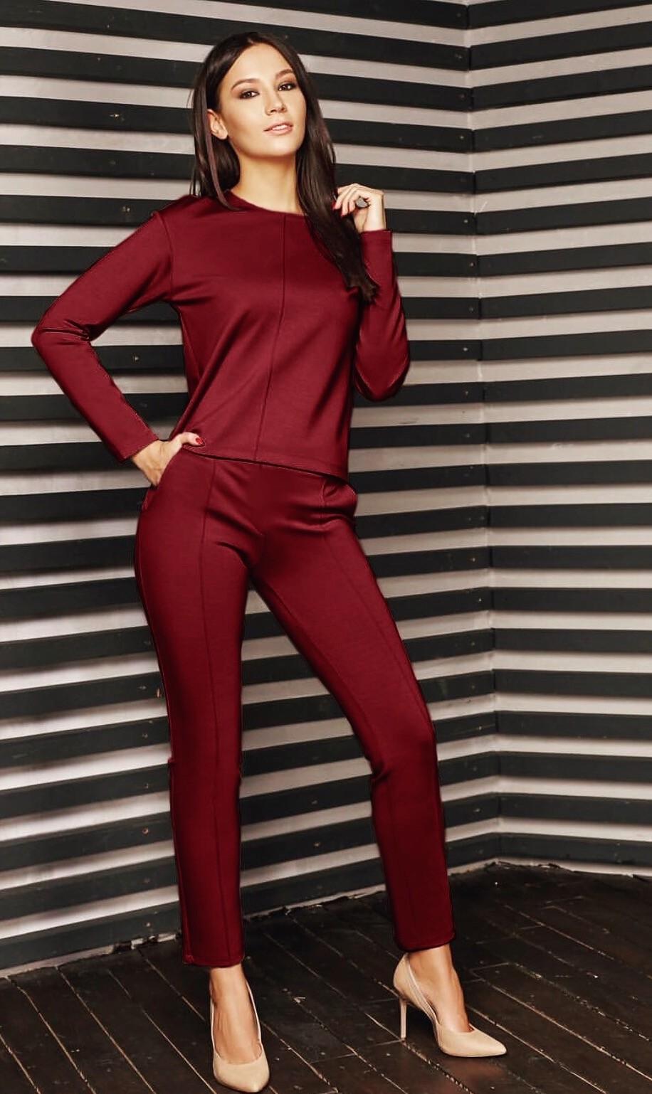женские брючные костюмы 2018